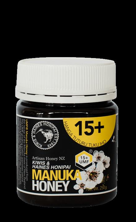 Manuka med s UMF faktorom 15+ (250g)